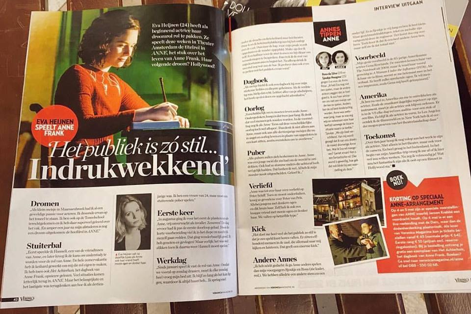 veronica magazine interview eva heijnen anne